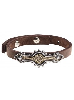 Portative Spectrostat Steampunk Leather Strap Bracelet Gothic Plus Gothic Clothing, Jewelry, Goth Shoes & Boots & Home Decor