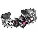 Elizabethan Pewter Cuff Gothic Bracelet
