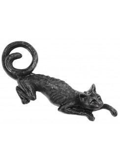 Cat Sith Hair Slide Barrette Gothic Plus Gothic Clothing, Jewelry, Goth Shoes & Boots & Home Decor