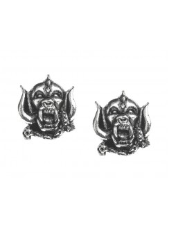 Motorhead War-Pig Pewter Earrings Gothic Plus Gothic Clothing, Jewelry, Goth Shoes & Boots & Home Decor