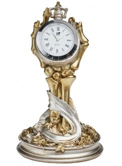 Hora Mortis Gothic Desk Clock Gothic Plus Gothic Clothing, Jewelry, Goth Shoes & Boots & Home Decor