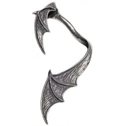 A Night with Goeth Bat Wing Earwrap Gothic Plus Gothic Clothing, Jewelry, Goth Shoes & Boots & Home Decor