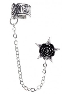 Rosa Nocta Gothic Earcuff Gothic Plus Gothic Clothing, Jewelry, Goth Shoes & Boots & Home Decor
