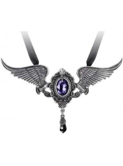 My Soul from the Shadow Necklace Gothic Plus Gothic Clothing, Jewelry, Goth Shoes & Boots & Home Decor