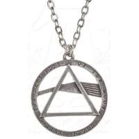 Pink Floyd Dark Side Prism Necklace