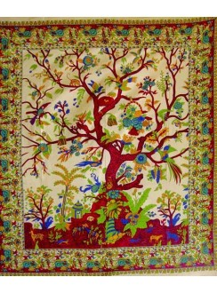 Tree of Life Double Tapestry Gothic Plus Gothic Clothing, Jewelry, Goth Shoes & Boots & Home Decor