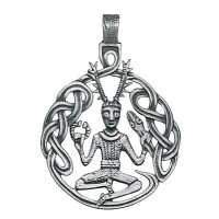 Cernunnos Necklace for Renewal and Transformation