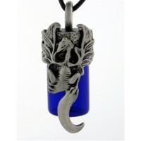 Dragon Essential Oil Bottle Vial Necklace