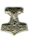 Raven Thors Hammer Pendant