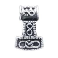 Small Thors Hammer Mjolnir Pendant