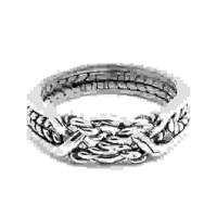 4 Band Twist Turkish Puzzle Ring