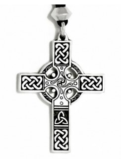 Celtic Cross Necklace - Small Gothic Plus Gothic Clothing, Jewelry, Goth Shoes & Boots & Home Decor