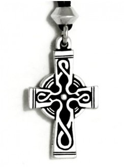 Celtic Cross Pewter Necklace Gothic Plus Gothic Clothing, Jewelry, Goth Shoes & Boots & Home Decor