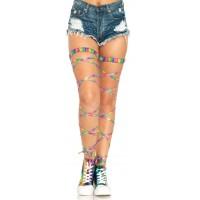 Rainbow Leg Wraps