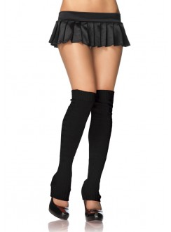 Ribbed Knit Footless Leg Warmers Gothic Plus Gothic Clothing, Jewelry, Goth Shoes & Boots & Home Decor