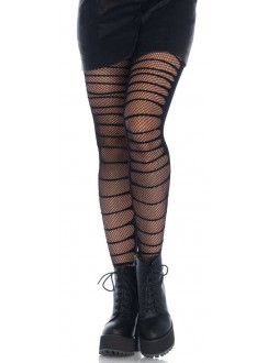 Double Layer Shredded Tights Gothic Plus Gothic Clothing, Jewelry, Goth Shoes & Boots & Home Decor