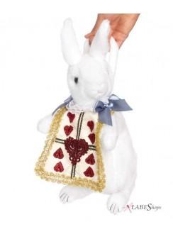 Wonderland Rabbit Plush Purse Gothic Plus Gothic Clothing, Jewelry, Goth Shoes & Boots & Home Decor