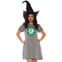 Basic Witch Halloween Party Dress