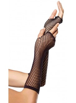 Black Triangle Net Fingerless Gloves Gothic Plus Gothic Clothing, Jewelry, Goth Shoes & Boots & Home Decor