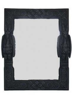 Celtic Dragon Wall Mirror Gothic Plus Gothic Clothing, Jewelry, Goth Shoes & Boots & Home Decor