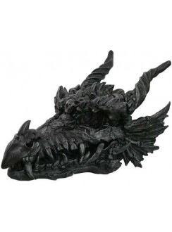 Dragon Skull Large Statue Gothic Plus Gothic Clothing, Jewelry, Goth Shoes & Boots & Home Decor
