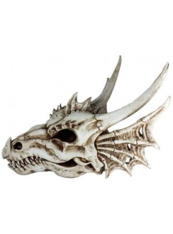 Dragon Skull Statue Gothic Plus Gothic Clothing, Jewelry, Goth Shoes & Boots & Home Decor