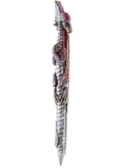 Dragon Refillable Ball Point Pen Gothic Plus Gothic Clothing, Jewelry, Goth Shoes & Boots & Home Decor
