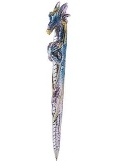 Ice Dragon Refillable Ball Point Pen Gothic Plus Gothic Clothing, Jewelry, Goth Shoes & Boots & Home Decor