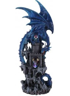 Dragon Castle Guardian Statue Gothic Plus Gothic Clothing, Jewelry, Goth Shoes & Boots & Home Decor