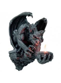 Whitechapel Gargoyle Wall Candleholder Gothic Plus Gothic Clothing, Jewelry, Goth Shoes & Boots & Home Decor