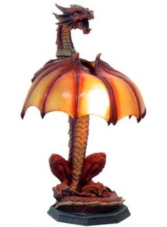 Dragon Table Lamp Gothic Plus Gothic Clothing, Jewelry, Goth Shoes & Boots & Home Decor