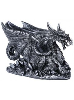 Winged Dragon Gothic Wine Bottle Holder Gothic Plus Gothic Clothing, Jewelry, Goth Shoes & Boots & Home Decor