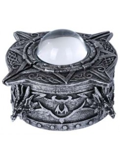Dragon Orb Trinket Box Gothic Plus Gothic Clothing, Jewelry, Goth Shoes & Boots & Home Decor