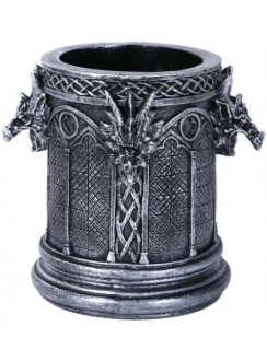 Gothic Dragon Utility Holder Cup Gothic Plus Gothic Clothing, Jewelry, Goth Shoes & Boots & Home Decor