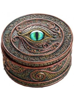 Dragon Eye Trinket Box Gothic Plus Gothic Clothing, Jewelry, Goth Shoes & Boots & Home Decor