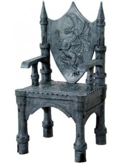 Dragon Throne Medieval Accent Chair Gothic Plus Gothic Clothing, Jewelry, Goth Shoes & Boots & Home Decor