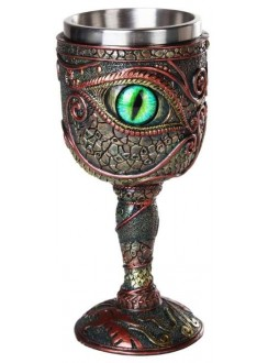 Dragon Eye Goblet Gothic Plus Gothic Clothing, Jewelry, Goth Shoes & Boots & Home Decor