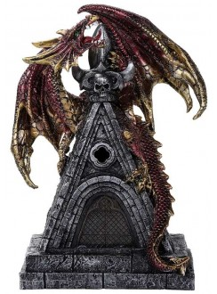 Gothic Dragon with LED Light Gothic Plus Gothic Clothing, Jewelry, Goth Shoes & Boots & Home Decor