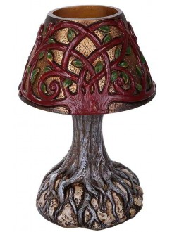Tree of Life Small LED Lamp Gothic Plus Gothic Clothing, Jewelry, Goth Shoes & Boots & Home Decor