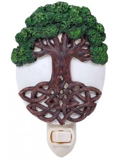 Tree of Life Night Light Gothic Plus Gothic Clothing, Jewelry, Goth Shoes & Boots & Home Decor