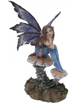 Nice Fairy Statue Gothic Plus Gothic Clothing, Jewelry, Goth Shoes & Boots & Home Decor
