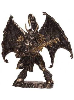 Chaos Demon Bronze Statue Gothic Plus Gothic Clothing, Jewelry, Goth Shoes & Boots & Home Decor
