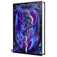 Dragon Storm Blade Embossed Journal