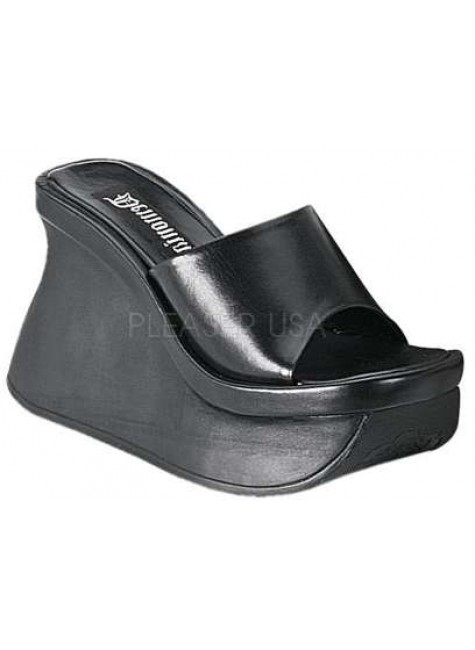 Pace Womens Platform Slide at Gothic Plus, Gothic Clothing, Jewelry, Goth Shoes & Boots & Home Decor