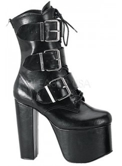 Torment High Heel Platform Ankle Boots Gothic Plus Gothic Clothing, Jewelry, Goth Shoes & Boots & Home Decor