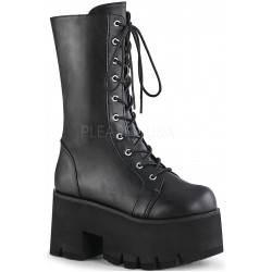 Ashes Womens Mid-Calf Platform Combat Boot Gothic Plus Gothic Clothing, Jewelry, Goth Shoes & Boots & Home Decor