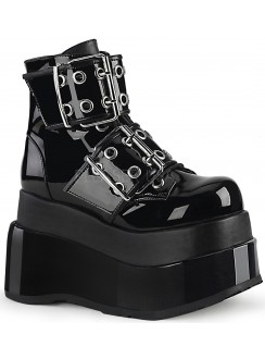 Bear Black Platform Ankle Boots Gothic Plus Gothic Clothing, Jewelry, Goth Shoes & Boots & Home Decor