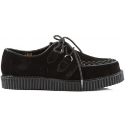 Rockabilly Mens Black Suede Creeper Loafer Gothic Plus Gothic Clothing, Jewelry, Goth Shoes & Boots & Home Decor