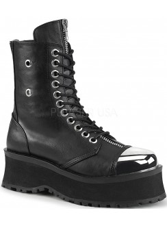 Gravedigger Mens Platform Ankle Boots Gothic Plus Gothic Clothing, Jewelry, Goth Shoes & Boots & Home Decor