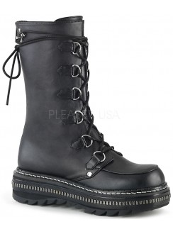 Lilith Metal Trimmed Mid-Calf Womens Black Boot Gothic Plus Gothic Clothing, Jewelry, Goth Shoes & Boots & Home Decor